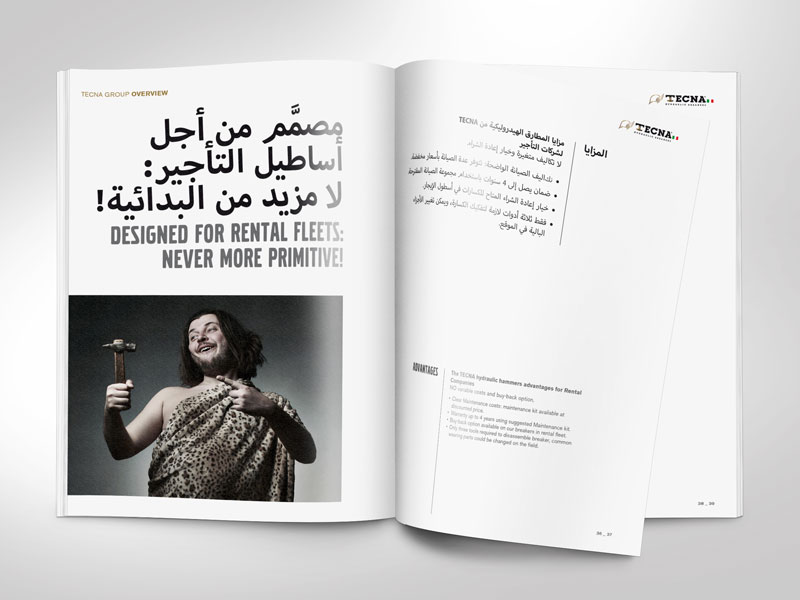 Brochure Company Profile 2017 - Arabic / English