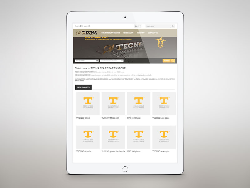 TECNA STORE Tablet device