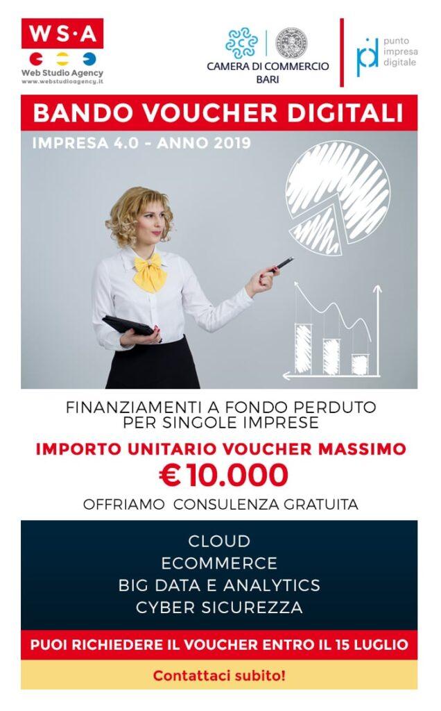 Bando Voucher Digitali Impresa 4.0 - Anno 2019